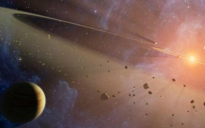 A 'estrela bizarra', achada pela Nasa,  tem seu brilho diminuído em intervalos irregulares