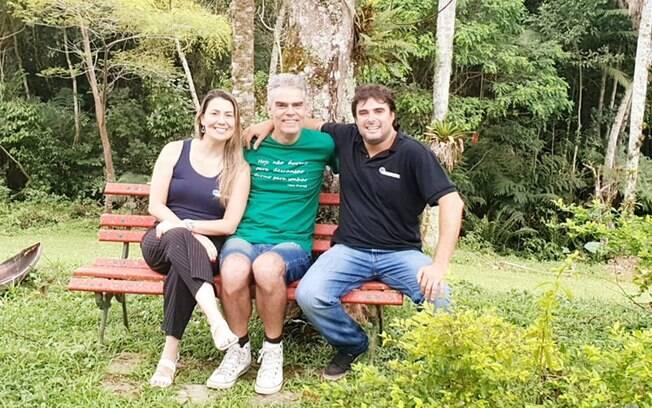 Joyce Sommer, Nizo Neto e Juan Roig