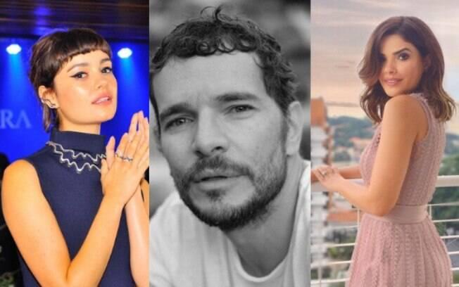 Vanessa Giácomo x Daniel de Oliveira x Sophie Charlotte