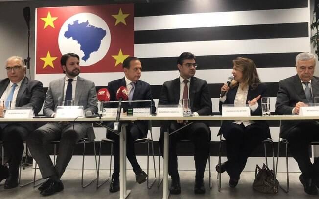 Governador eleito em São Paulo, João Doria (PSDB) anunciou novos integrantes de sua equipe