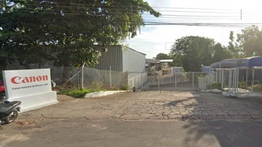 Fábrica da Canon em Manaus
