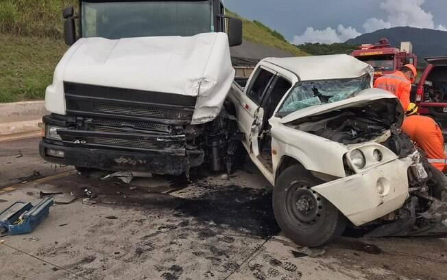acidente em Minas Gerais