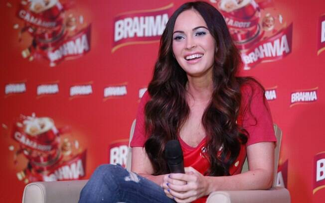 Megan Fox, que já é mãe de Noah, de dez meses, está grávida novamente do casamento com Brian Austin Green