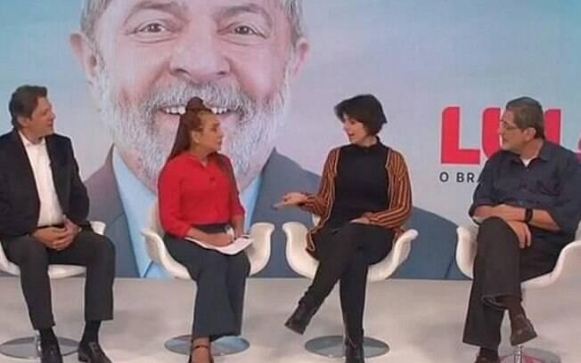 Debate paralelo do PT contou com Haddad; ex-prefeito de São Paulo pode se tornar um dos candidatos à Presidência
