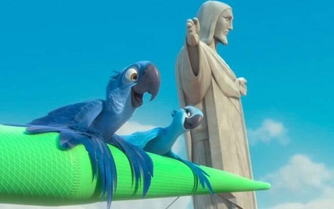 Os principais pontos turísticos do Rio de Janeiro são mostrados na animação de Carlos Saldanha