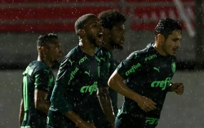 Palmeiras venceu o Red Bull Brasil