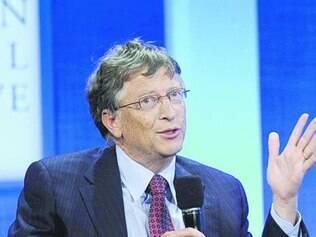 Em 2013, Bill Gates somou US$ 15,8 bilhões a seu patrimônio