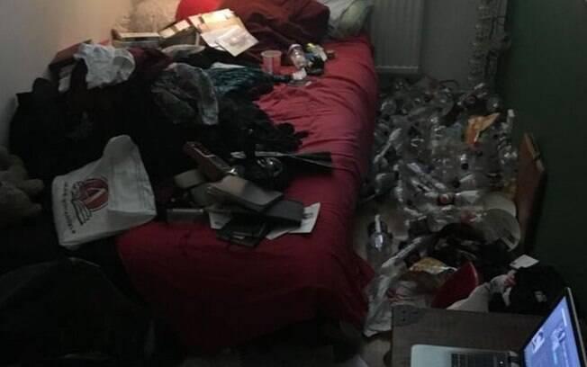 Usuário da rede social Imgur com depressão publicou foto de seu quarto antes e depois de arrumação que durou três dias