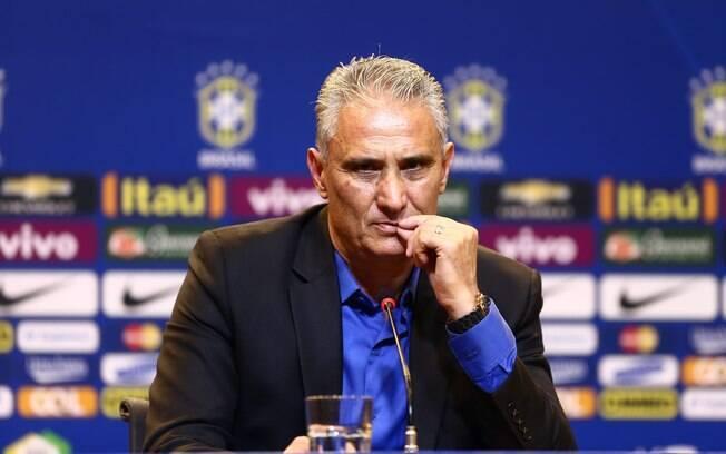 Tite foi apresentado na seleção brasileira nesta segunda-feira