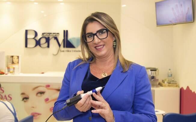Luzia Costa: fundadora da Beryllos e Sóbrancelhas