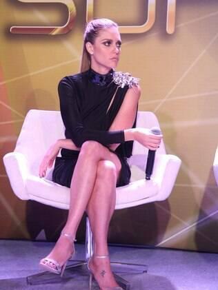 Fernanda Lima, uma das apresentadoras da atração