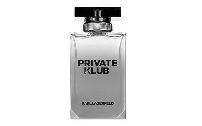 Private Klub, da Karl Lagerfeld - Eau De Toilette, de R$289,00 por R$209,00 ou em 10x de R$20,90 no site da Sephora
