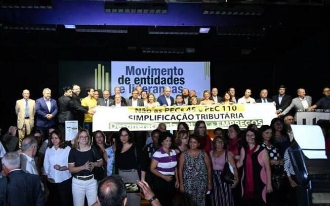 Mais de 70 entidades participaram de evento contra as atuais propostas de reforma tributária