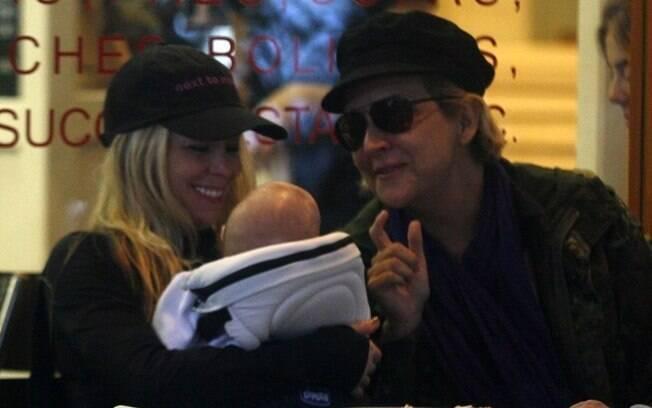 Danielle Winits e Betty Lago