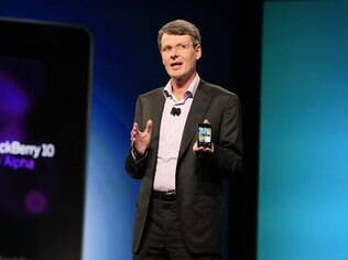 Thorsten Heins, CEO da RIM: todas as fichas no BlackBerry 10