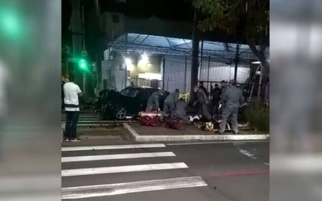 Acidente na Júlio Prestes deixa 4 pessoas feridas em Campinas