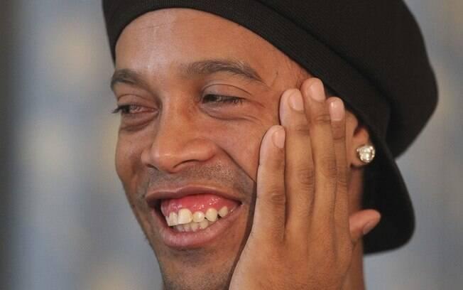 Ronaldinho Gaúcho está preso no Paraguai