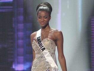 O traje de gala de Leila Lopes, Miss Universo 2011