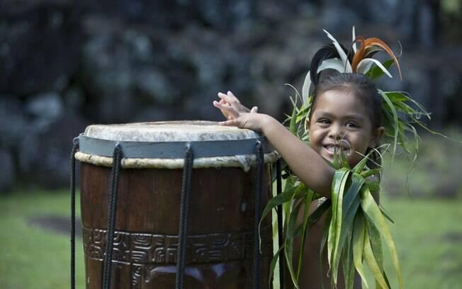 A dança no Tahiti é uma das atrações porque isso faz parte da cultura local e aproveitam isso para convidar Mana