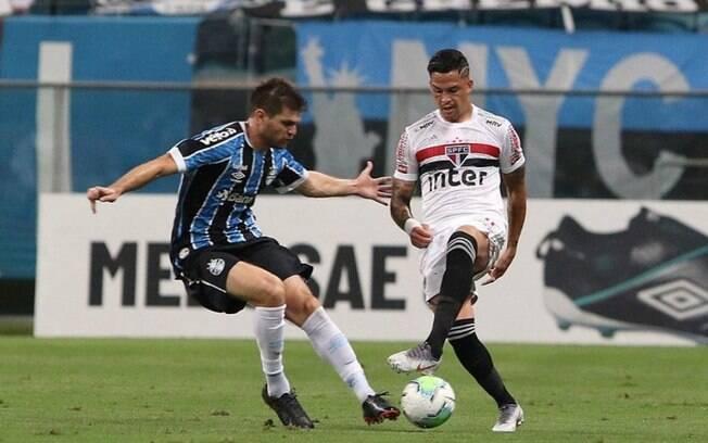 Luciano vira dúvida para jogo contra o Grêmio