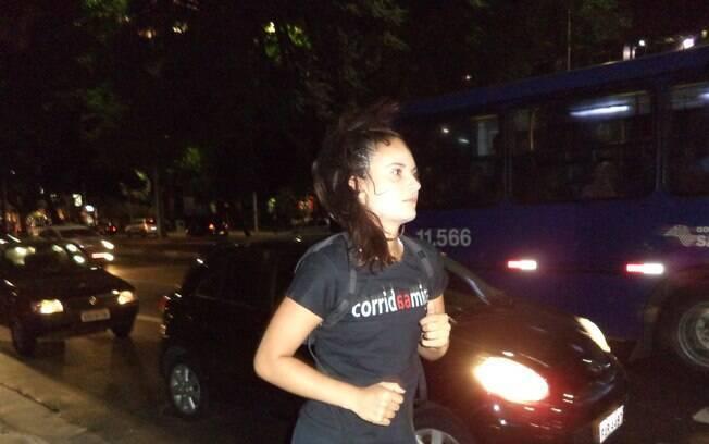 A gestora ambiental Silvia Stuchi Cruz, criadora do projeto que foi batizado como Corrida Amiga