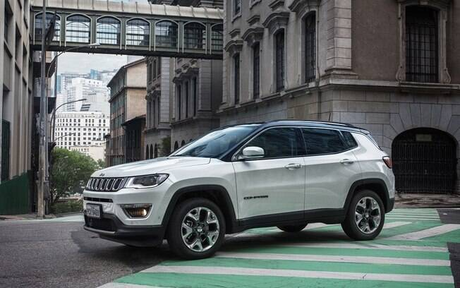 Jeep Compass segue o SUV mais vendido, com Honda HR-V na 2ª colocação