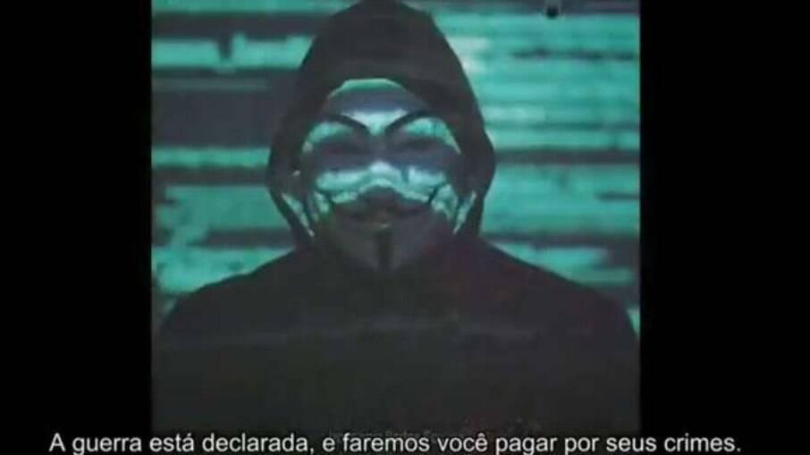Anonymous declara guerra contra Bolsonaro