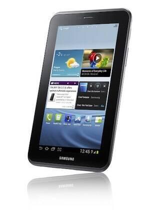 Nova versão do primeiro Galaxy Tab vem com processador de 1 GHz e ficou mais leve