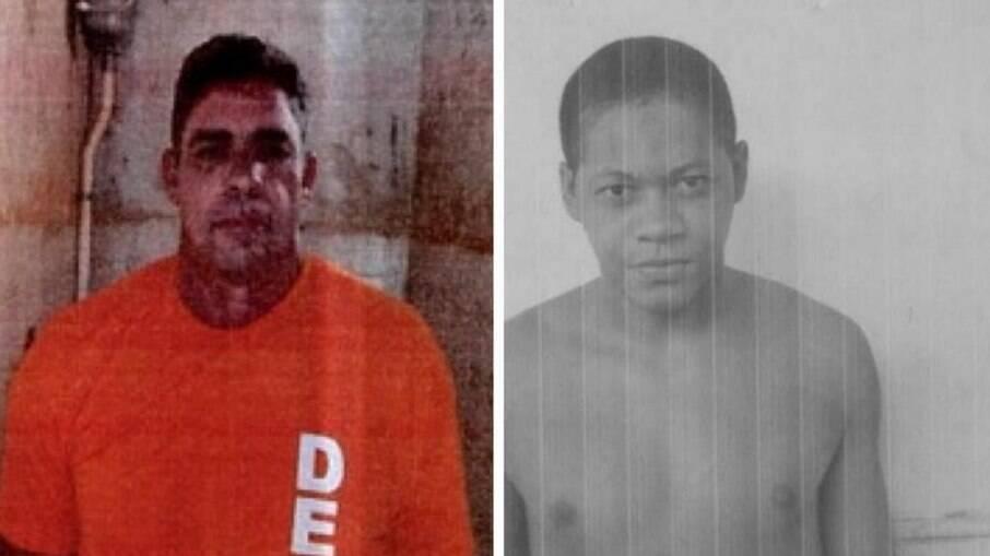 À esquerda o pedreiro preso injustamente e à direita o condenado por roubo no Maranhão