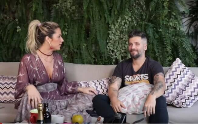Giovanna Ewbank e Bruno Gagliasso em vídeo no YouTube