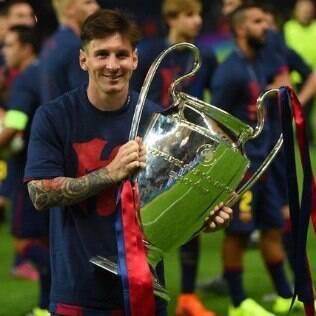 Na temporada 2014/2015, Barcelona vence a Liga dos Campeões em final contra a Juventus, da Itália