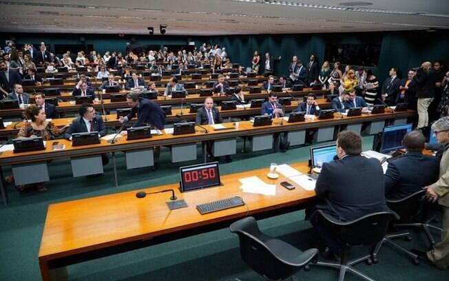 Sessão da CCJ