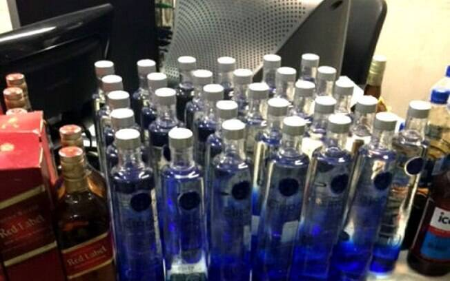 A cada cinco garrafas de vodka vendidas no Brasil, uma é falsificada, segundo estudo
