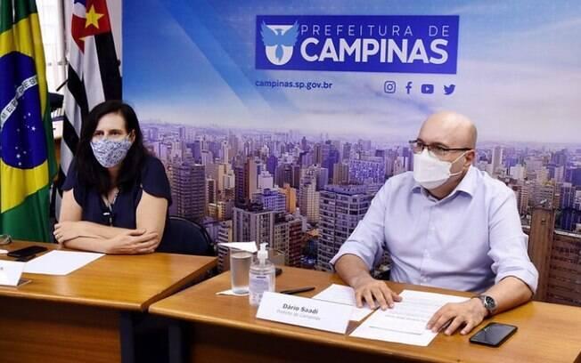 AO VIVO Dário faz live sobre medidas de combate a covid-19 em Campinas