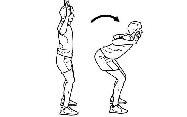 Mais exercício para se aquecer antes de correr