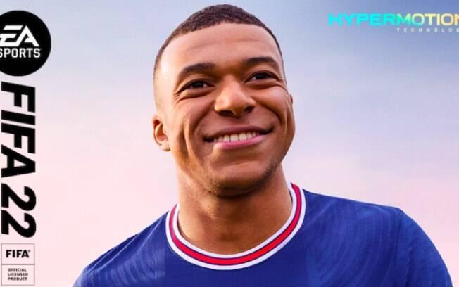 FIFA 22 é anunciado com data de lançamento e Mbappé na capa