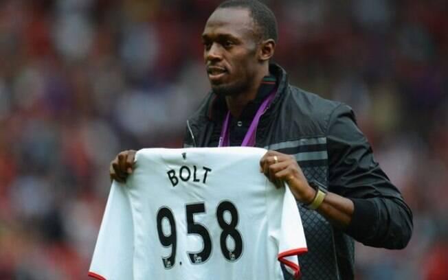 Usain Bolt é torcedor do Manchester United