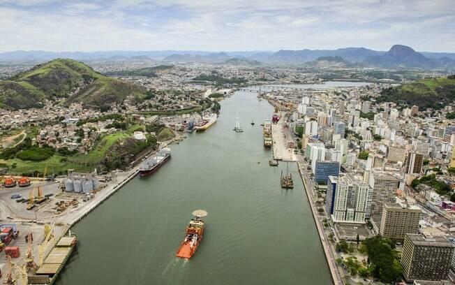 Leilão dos portos inclui o de Vitória, no Espírito Santo, que gerou arrecadação de R$ 165 milhões ao governo