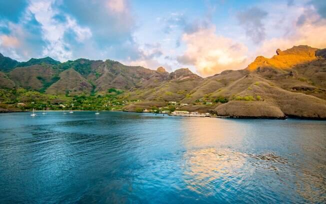 As paisagens de ilhas do Tahiti já serviram de inspiração para obras de artistas como o francês Paul Gauguin
