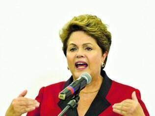 Alfinetada. Presidente ficou irritada ontem ao ser questionada sobre preparação para sabatina na CPI
