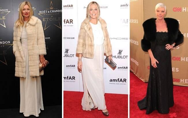 Chique No Outonoinverno Como Usar Casaco Com Vestido Longo