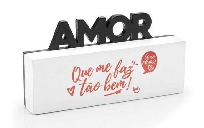 Mensagem de amor para mesa