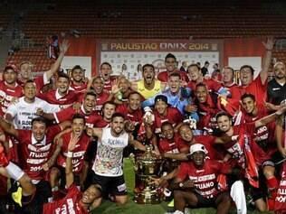 Em 2014, o Ituano faturou o título de Campeão Paulista