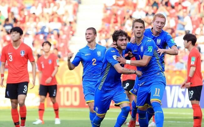 Supriaha marcou os dois gols da Ucrânia na partida e deu o título inédito da Copa do Mundo Sub 20 masculina ao país
