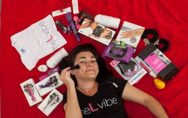 Marcia Soares comanda uma sex shop exclusiva para lésbicas
