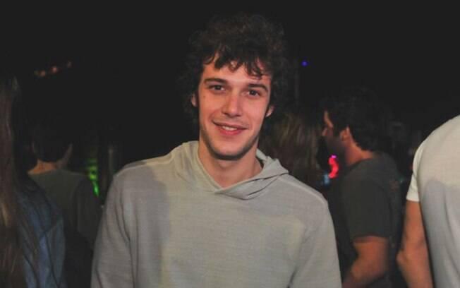 Jayme Matarazzo na segunda noite do Rock in Rio, no sábado (24/09)