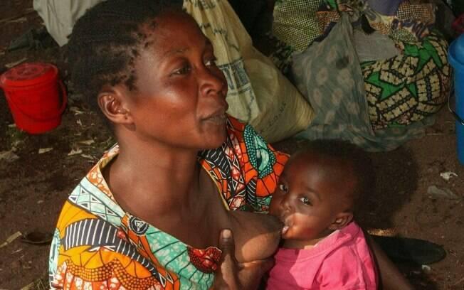 Congo: no país cujo IDH é de apenas 0,239, há 115 óbitos a cada 1 mil nascidos vivos e pelo menos 76% da população está subnutrida. Foto: Getty Images