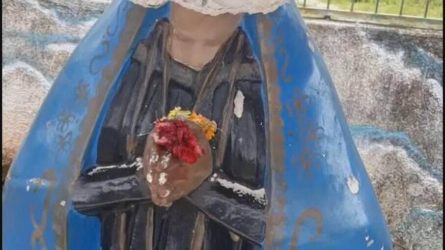 Nossa Senhora decapitada no DF