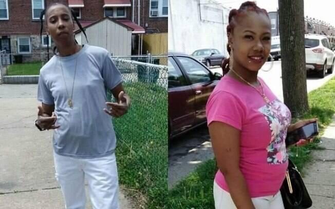 Shatika e Alicia Lawson, mães do pequeno Malachi Lawson, morto durante banho quente