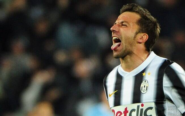 Del Piero foi especulado como reforço do  Flamengo e do Corinthians